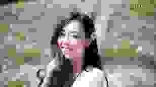 Giới trẻ thích thú chụp ảnh tại vườn cúc họa mi nở sớm ở Hà Nội