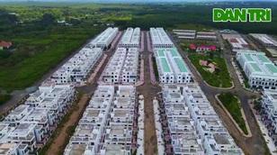 Clip cận cảnh dự án gần 500 căn biệt thự xây trái phép ở Trảng Bom