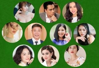 Dàn sao Việt đình đám chúc mừng sinh nhật Dân trí tuổi 15