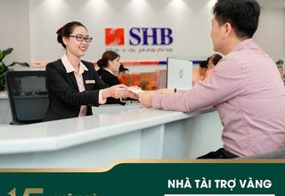 SHB là Nhà tài trợ vàng giải thưởng Nhân tài Đất Việt 2019