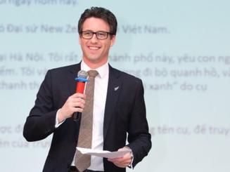 Ấn tượng bài phát biểu bằng tiếng Việt của Phó đại sứ New Zealand tại Việt Nam