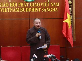 Giáo hội Phật giáo đề xuất tạm đình chỉ mọi chức vụ của trụ trì chùa Ba Vàng