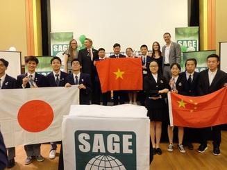 Học sinh Việt vô địch sân chơi khởi nghiệp quốc tế Sage Global 2019 tại Mỹ