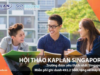 """Ngày hội tư vấn """"Lộ trình học Đại học khi chưa có bằng THPT tại Kaplan Singapore"""""""