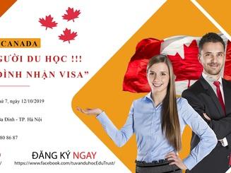 Một người du học - Cả gia đình nhận Visa Canada
