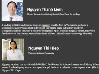 Dấu ấn khoa học Việt trên trường quốc tế năm 2019