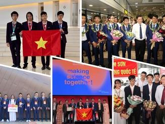 Những tấm huy chương, gương mặt vàng Việt Nam tại các kỳ thi Olympic quốc tế 2019