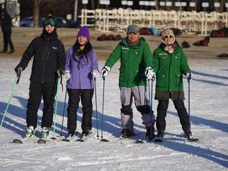 Tết này, trải nghiệm trượt tuyết?