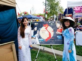 Du học sinh quảng bá văn hóa Việt trên đất Mỹ