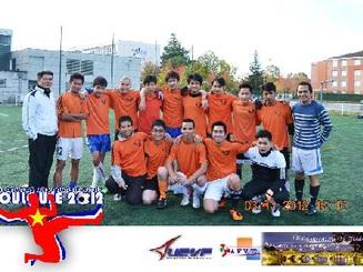 Sôi động và hấp dẫn giải bóng đá DHS tại Toulouse