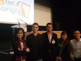 UEVF tham gia Đại hội lần thứ 83 của Hội sinh viên Pháp