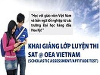 Luyện thi SAT @ OEA Vietnam - Rộng mở cơ hội học bổng du học Mỹ!