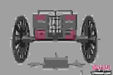Khai quật cỗ xe ngựa gần 3.000 năm tuổi, khảm hàng nghìn mảnh ngọc lam