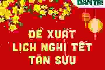 Infographics: Đề xuất nghỉ Tết Nguyên đán và Quốc khánh 2/9