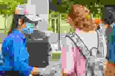 Dù gia đình lo vì dịch Covid-19, nữ sinh quyết tham gia tiếp sức mùa thi