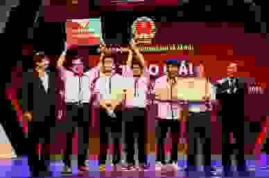 Lộ diện đội giải Nhất cuộc thi khởi nghiệp giáo dục nghề nghiệp 2020