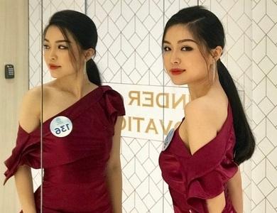 Ngắm vẻ đẹp nữ sinh ngành báo chí từng dự thi tài sắc Việt Nam