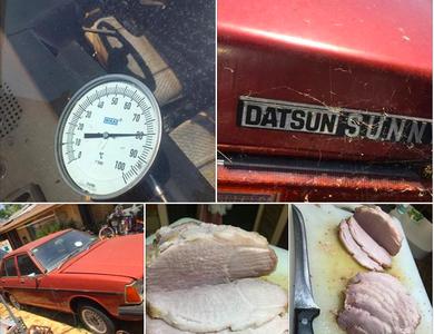 Cả thế giới đang mùa Đông nhưng riêng ở Úc thịt được nấu chín trong ô tô vì... trời nóng