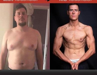 """Hành trình lột xác đáng kinh ngạc của chàng béo """"kém may mắn nhất thế giới"""""""