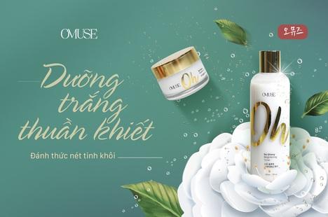 O'Muse Oh So Glowy Brightening: Bí quyết dưỡng trắng da từ Hàn Quốc