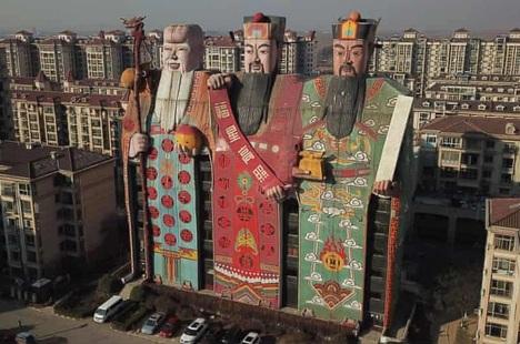 """Những công trình kiến trúc kỳ quặc bị xem là """"xấu nhất trung Quốc"""""""