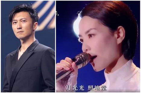 Biểu cảm của Tạ Đình Phong khi Vương Phi trình diễn