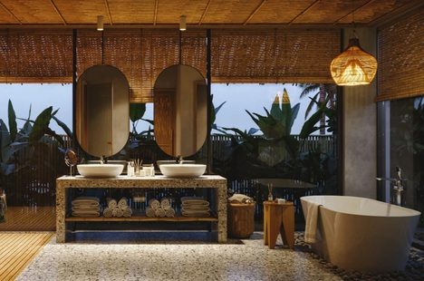 Những concept thiết kế phòng tắm độc lạ của các nhà thiết kế nội thất trẻ Việt