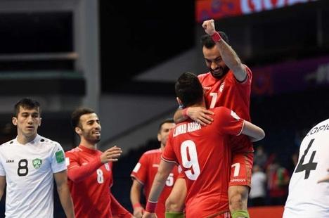 Iran đi tiếp, xác định xong các trận đấu tứ kết World Cup futsal 2021