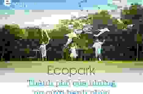 Ecopark - Thành phố của những nụ cười hạnh phúc