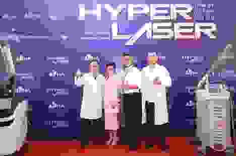 Hội thảo khoa học Hyper Laser quy tụ các bác sĩ đầu ngành