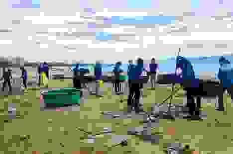 Thanh niên Bình Định tình nguyện vì môi trường biển sạch