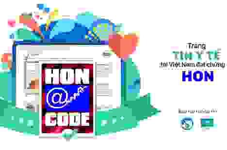Trang tin Y tế YouMed đạt chứng nhận HONcode