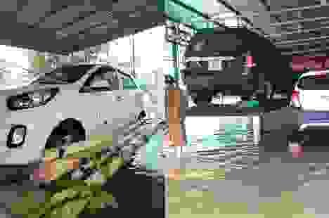 Muôn kiểu tránh ngập, chống bão cho ô tô được cư dân mạng chia sẻ rần rần