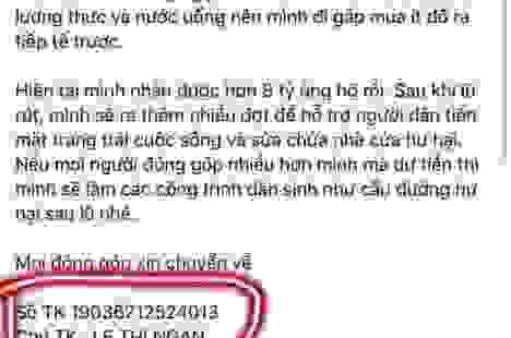 """Kẻ giả mạo Thủy Tiên lừa tiền trên Facebook sẽ """"ngã ngửa"""" trước mức án tù!"""
