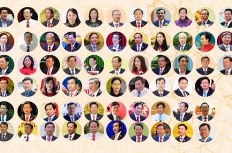 Chân dung 63 bí thư tỉnh, thành nhiệm kỳ 2020 - 2025