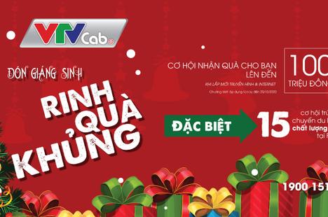 Đón Giáng sinh - Rinh quà khủng từ VTVcab