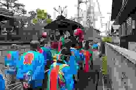Happi - đồng phục của các đoàn đội trong lễ hội Nhật Bản