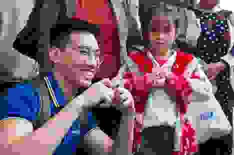 TMV Ngọc Dung khép lại hành trình thiện nguyện tại Nghệ An - Hà Tĩnh