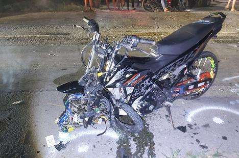 Hai xe máy tông nhau vỡ nát, 2 người tử vong tại chỗ