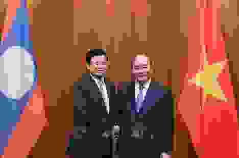 Thủ tướng Lào thăm Việt Nam, đồng chủ trì Kỳ họp Ủy ban liên Chính phủ