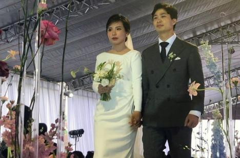 Công Phượng được ưu ái đặc biệt sau lễ cưới