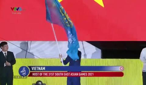 Cờ SEA Games được chuyển giao cho Việt Nam