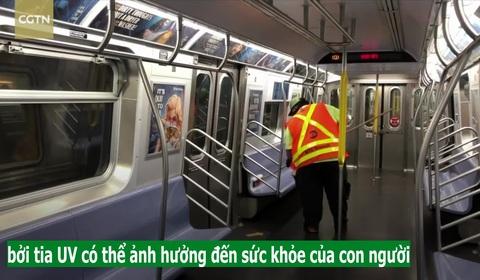 Ổ dịch New York dùng UV để tiêu diệt SARS-CoV-2 trên phương tiện công cộng