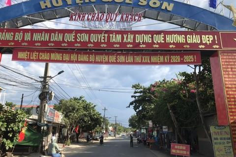 Đêm nay Quảng Nam phong tỏa thêm khu vực nguy cơ cao lây nhiễm Covid-19