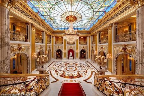 Vẻ đẹp kiến trúc choáng ngợp của căn biệt thự có giá 250 triệu USD