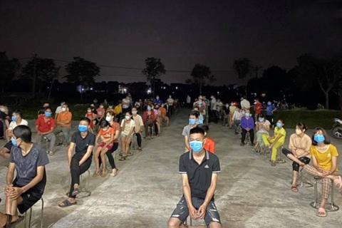 Xét nghiệm xuyên đêm, Bắc Ninh phát hiện thêm 17 ca dương tính SARS-CoV-2