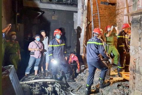 Hé lộ nguyên nhân ban đầu vụ cháy làm 8 người chết thương tâm ở TPHCM