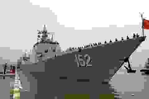 Hải quân Trung Quốc lần đầu phô diễn tại Bắc Âu