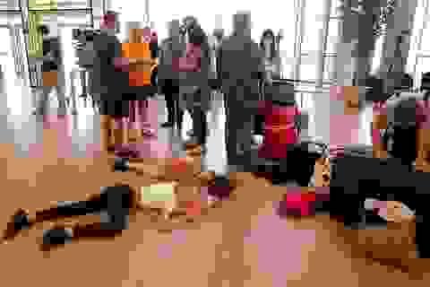 Sợ khủng bố, du khách Anh hoảng hốt rời Ai Cập