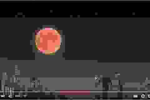 """Hiện tượng hy hữu """"Siêu Trăng-Trăng Máu"""" sẽ xuất hiện vào đêm Trung thu"""